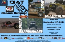 National Rampage Dirt Riot flier 220x142 The National Rampage Dirt Riot Race is This Weekend