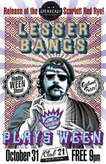 Lesser Bangs Event