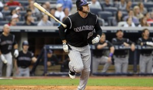 Jason Giambi with the Rockies (Getty Images)