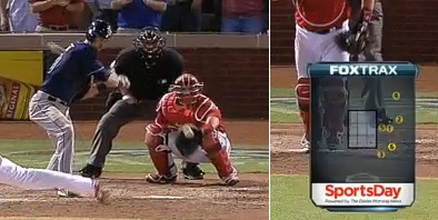 This bad call cost the Rays a game last year.  It doesn't have to be this way.  But it is, so lets break it down....