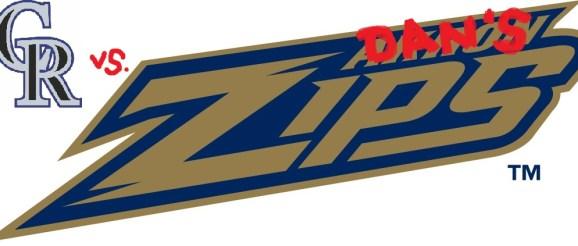 No, not the Akron Zips, Dan's ZiPS!
