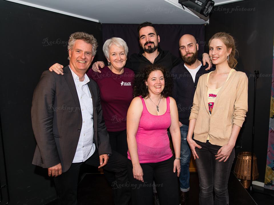Adde Malmberg, Birgitta Lowén, Ryan Bussell, Marcus Bengtsson, Madeleine Walderhaug, Eva Viding Bussell