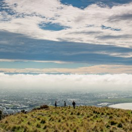 View from Mt Cavendish towards Christchurch