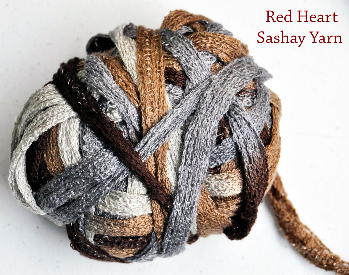 How to Crochet a Ruffle Scarf With Red Heart Sashay Yarn