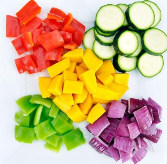 Fresh Vegetables for Grilling
