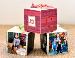 DIY Photo Cube Ornaments