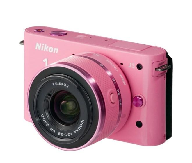 A Pink Nikon Camera