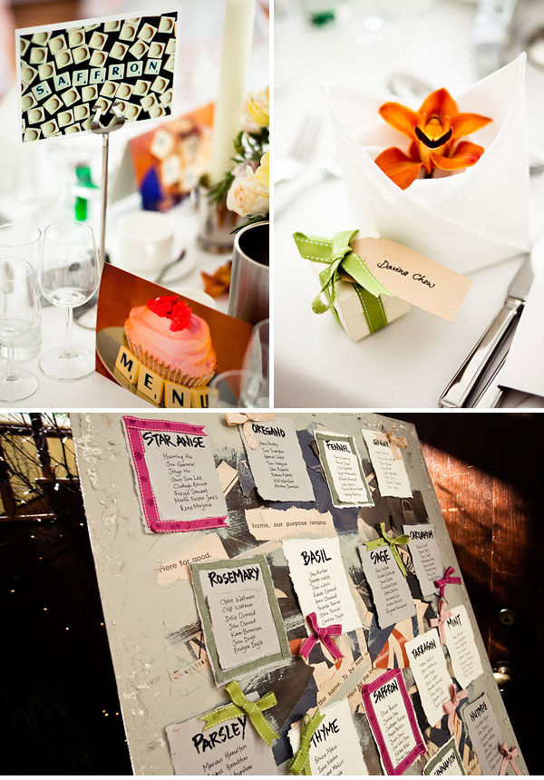 Table Plan Be ribboned and Beautiful... Part 2
