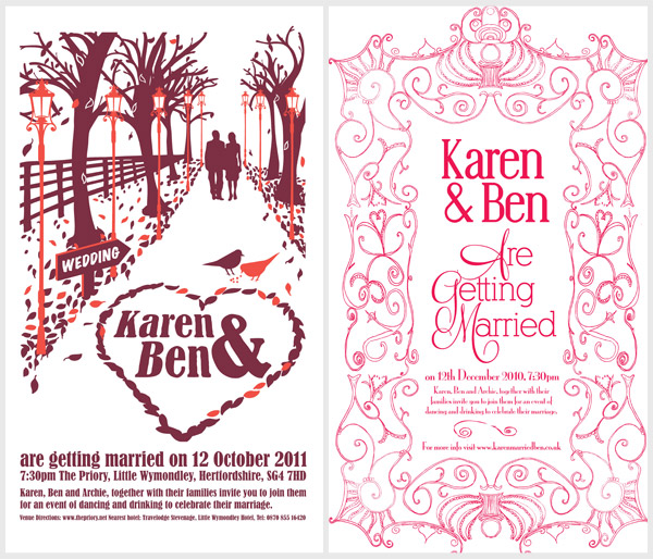 Wedding Tea Towels 2 Wedding Tea Towels: New Designs for 2011