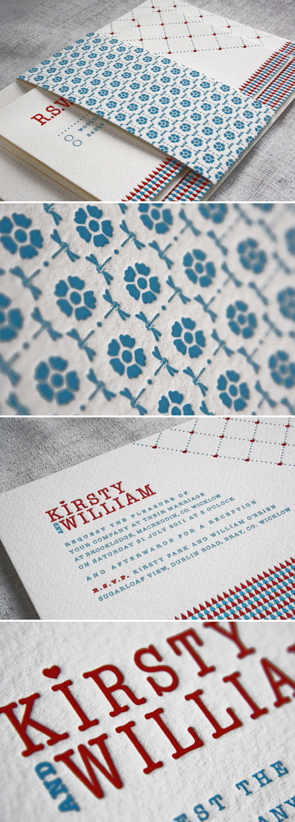 Eva Slade 2 Rock My Wedding Sponsor... Eva Slade Letterpress Stationery