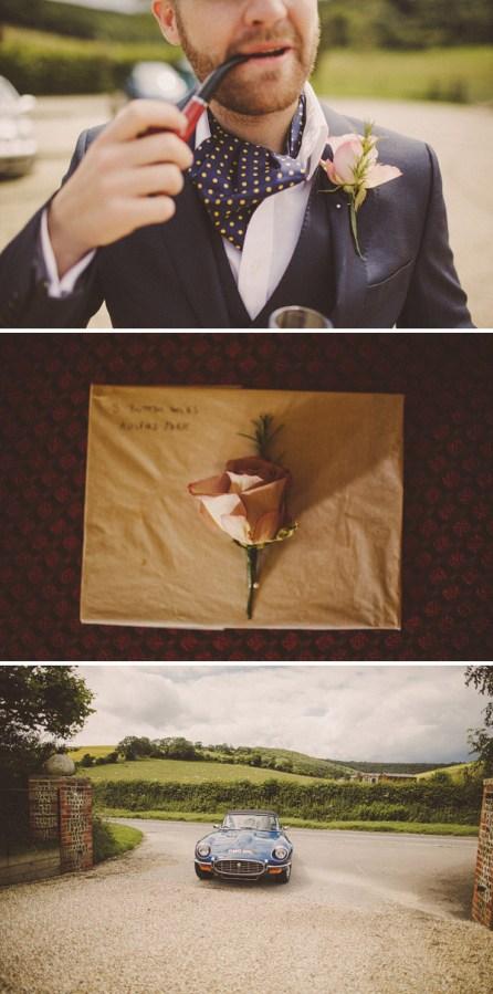Polka Dot Cravats Austin Reed Wedding Suit