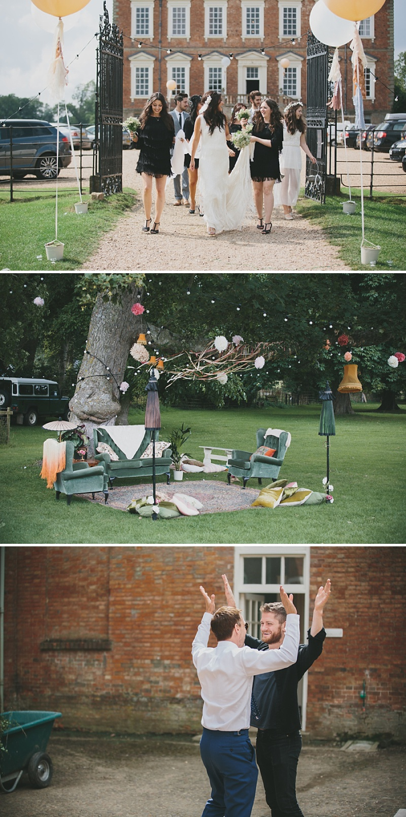 A Great Gatsby Woodstock themed wedding at Stanford Hall with a bridal gown from Blackburn Bridal Couture 0032 Woodstock Meets The Great Gatsby.
