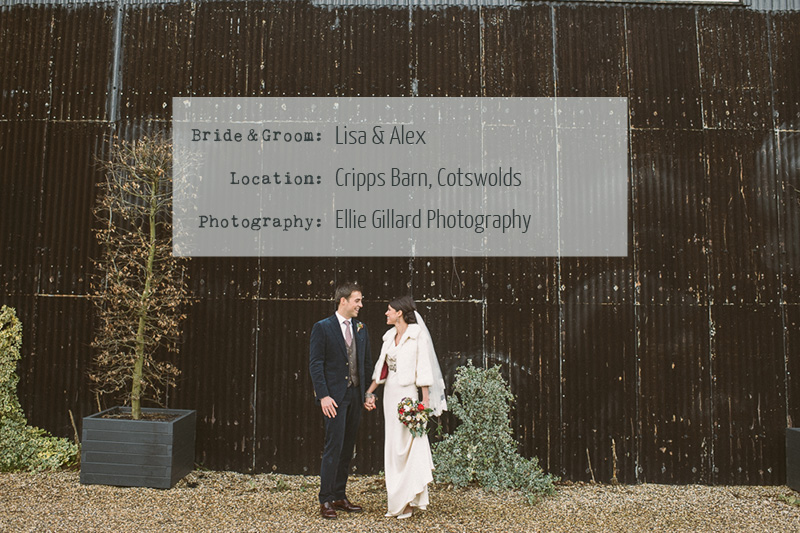 Cover Image5 A Rustic Winter Wedding At Cripps Barn