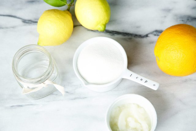 DIY Lemon Sugar Scrub | Rockwell