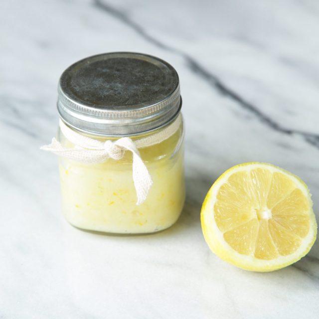 DIY: Lemon Sugar Scrub