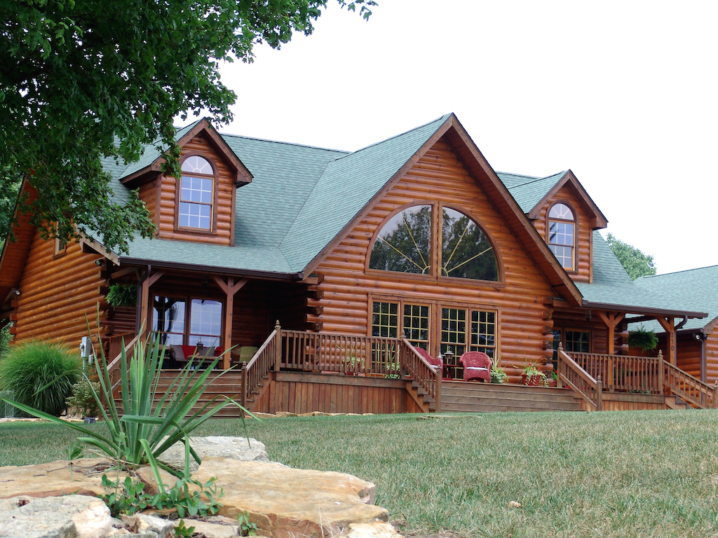 Precious Time Is Attention Log Home Time Is Log Homes Honest Abe Log Homes Madison Honest Abe Log Homes Crossville houzz-03 Honest Abe Log Homes