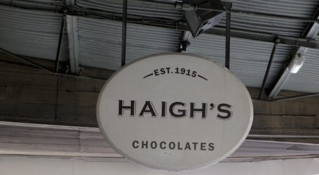 Haighs chocolates factory