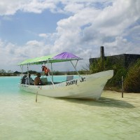 Backpacking Mexico VII: angekommen im Paradies - Laguna Bacalar