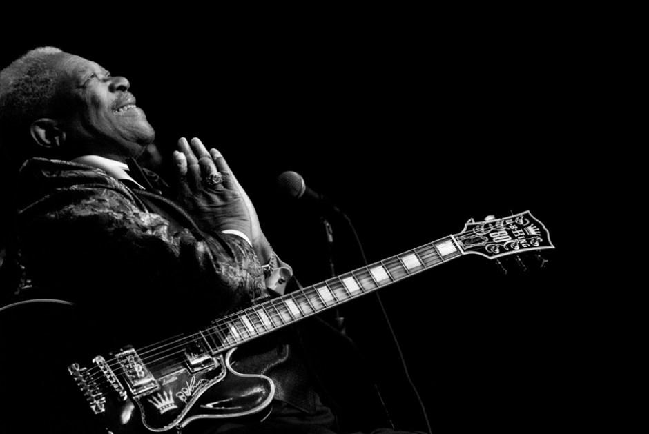 B.B. King, 2006.