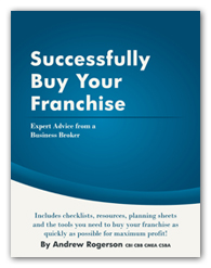 book on how to buy a franchise by business expert andrew rogerson