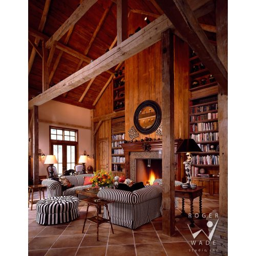 Medium Crop Of Rustic Home Library