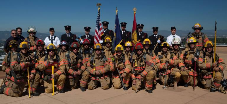 Medford Fire StairClimb 2013