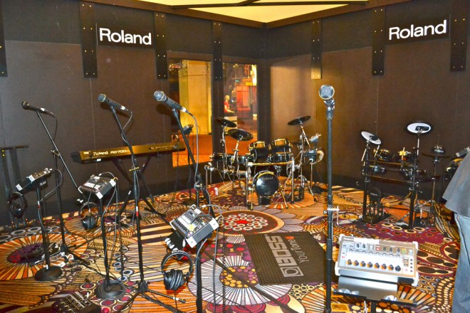 RRFC Recording Studio at the MGM Grand