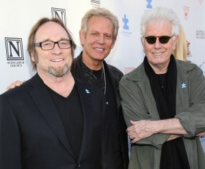 2nd Light Up The Blues Concert - Stephen Stills, Don Felder and Graham Nash