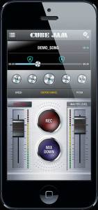 CUBE Jam App for CUBE amps on Apple iPhone