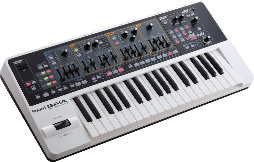 Play Synth Bass with the Roland GAIA SH-01