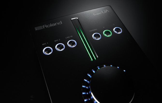 Roland super interface audio UA