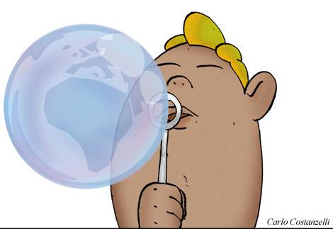 Capire il mondo attraverso una bolla di sapone