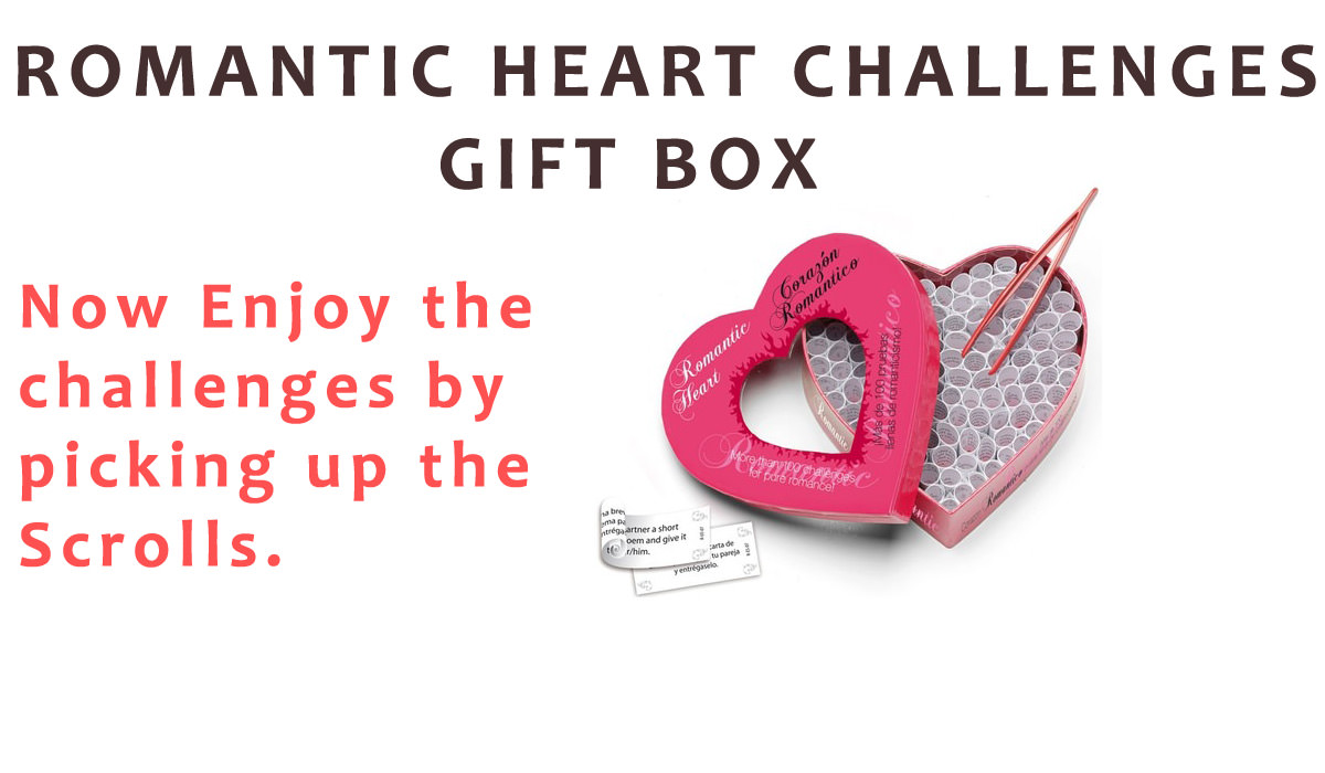 Romantic Heart Challenges Gift Box
