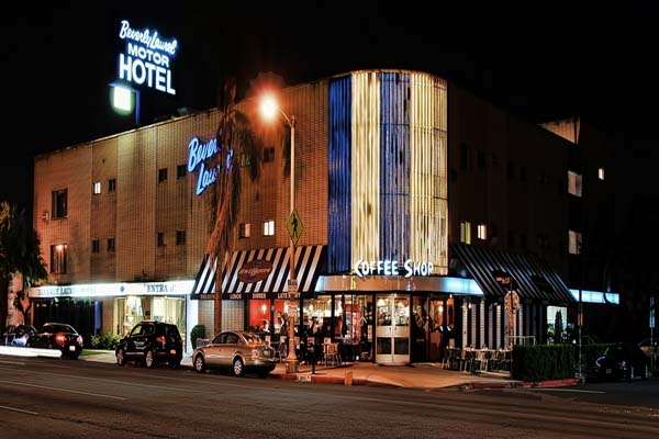 Budget romantic hotels in los angeles list of budget for Motor hotel los angeles