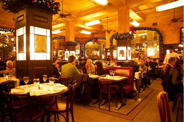 Romantic restaurants in new york city list of most for Best romantic restaurants nyc