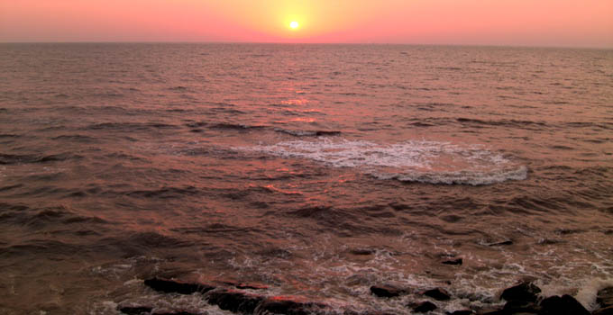 Worli Seaface Sunset