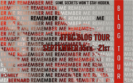 remember me blog tour