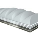 Industrial Skylights With Capped System Meet Code Requirements