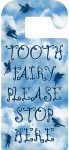 Printable door hanger asking the Tooth Fairy to stop by