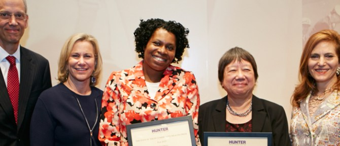 2015 Joan H. Tisch Community Health Prize Recipients