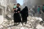 Aleppo (Siria) Foto AFP