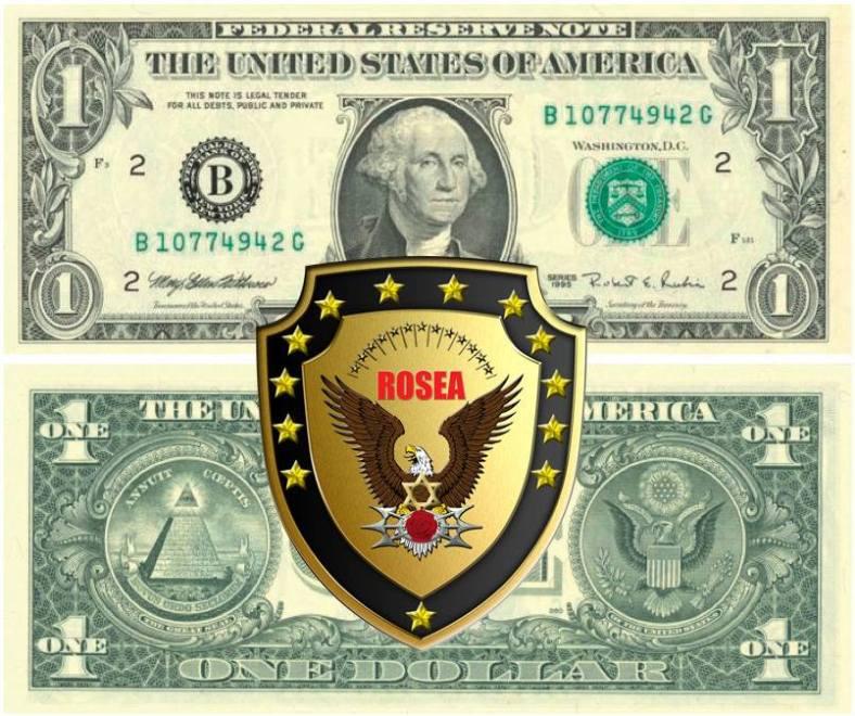 ROSEA LOGO 1 DOLLARO