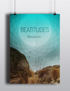 Artwork - Beatitudes (blue)