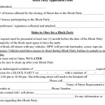 Block Party Requests To Get More Formal