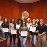 2016 RPHS Girls' Softball Team Celebrated For Winning Season