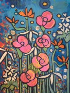 Floral Symphony 12x16