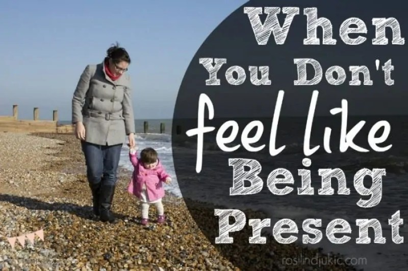 What do you do when you don't feel like showing up and being present with your family like they need you to be? Here are 5 ways you can't avoid checking out