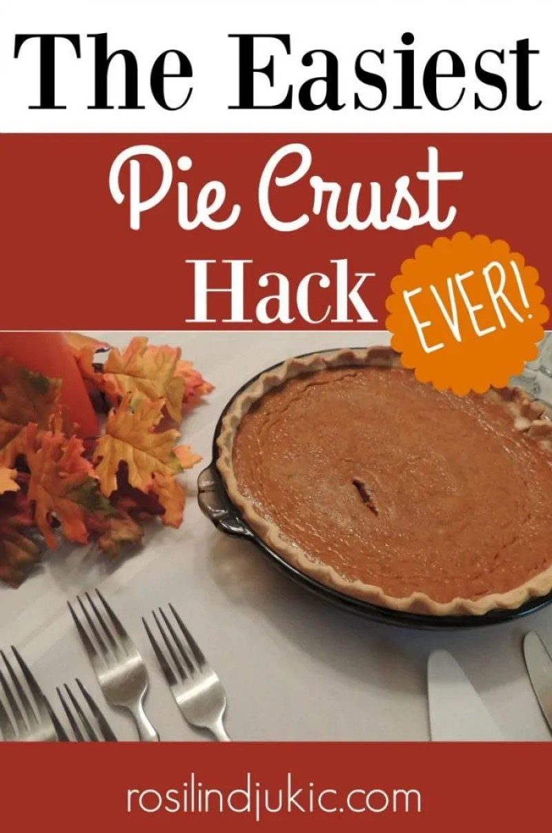 Use this amazing pie crust hack to impress your guests with a perfect pie crusts every time!!