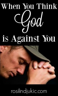In order to be truly victorious in our lives, we must learn to recognize our real enemy. When you think God is against you, remember this!