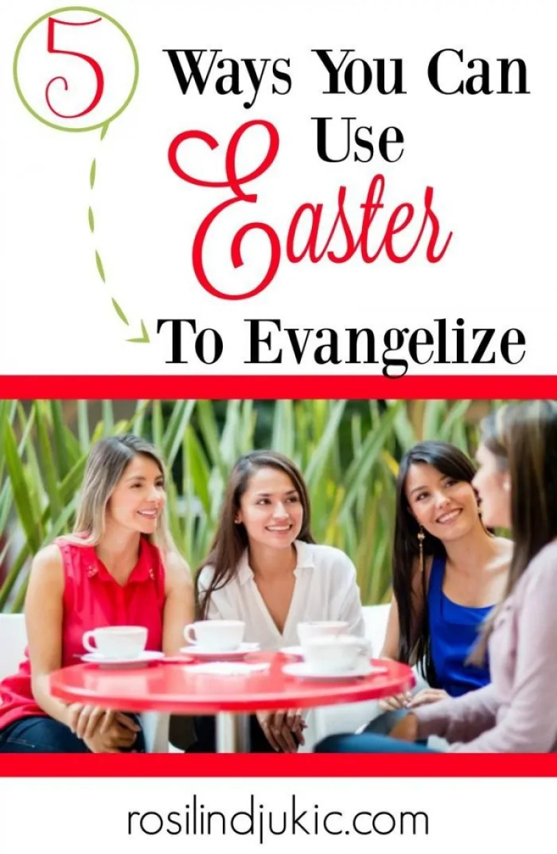 These are so creative! I love them! Here are 5 ways you can use the Easter holiday to evangelize!